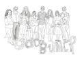People-odd-bunch-by-Shirlei-Barnes