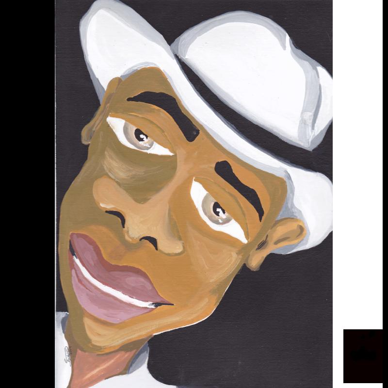 Samba Man – Character Illustration