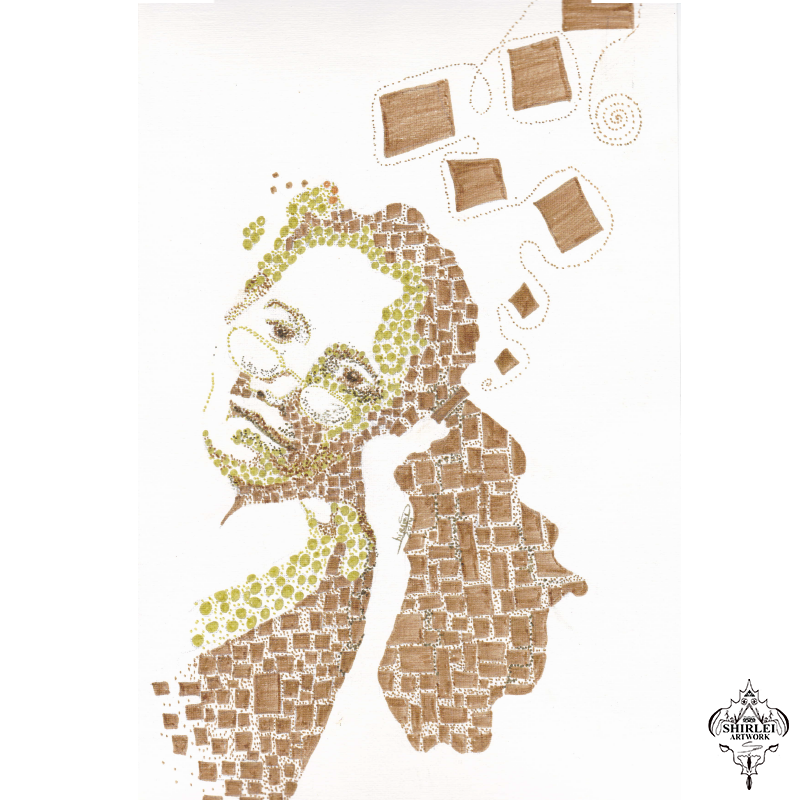 Shapes and Squares – Character Illustration