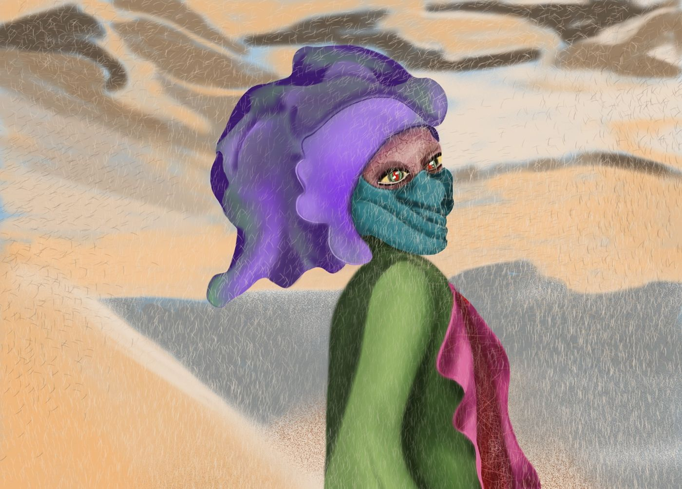 Illustration Cartoon – Nomadic Trader