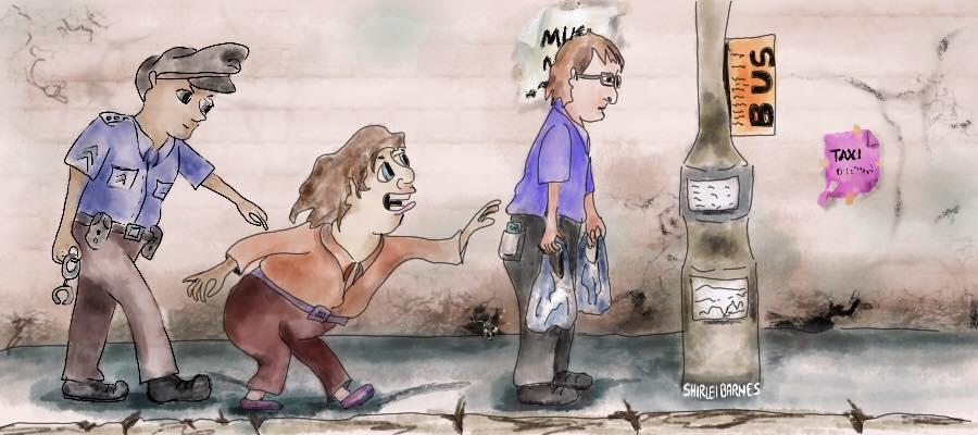 Cartoon Illustration – Pickpocket